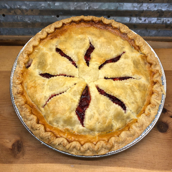 "Fresh Baked Strawberry Pie 9"" Pie"