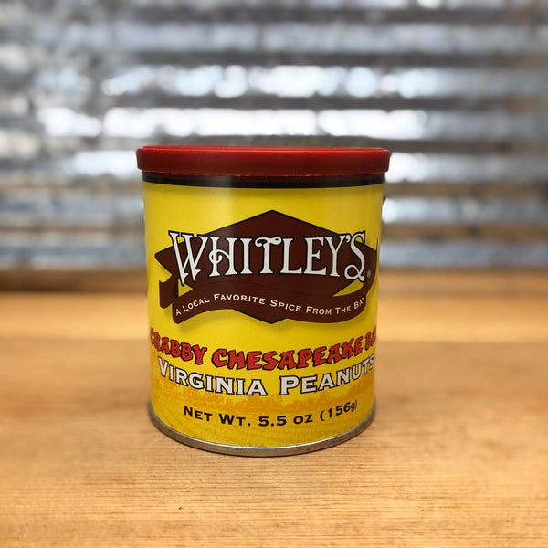 Whitley's Crabby Chesapeake Bay Peanuts