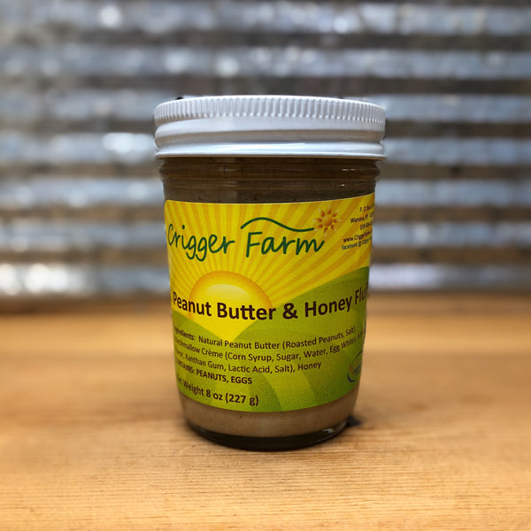 Crigger Farm Peanut Butter & Honey Fluff