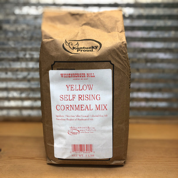 Weisenberger Mills Yellow Self Rising Cornmeal Mix 5 lbs