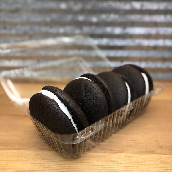 Shirley's Chocolate with Vanilla Whoopie Pies