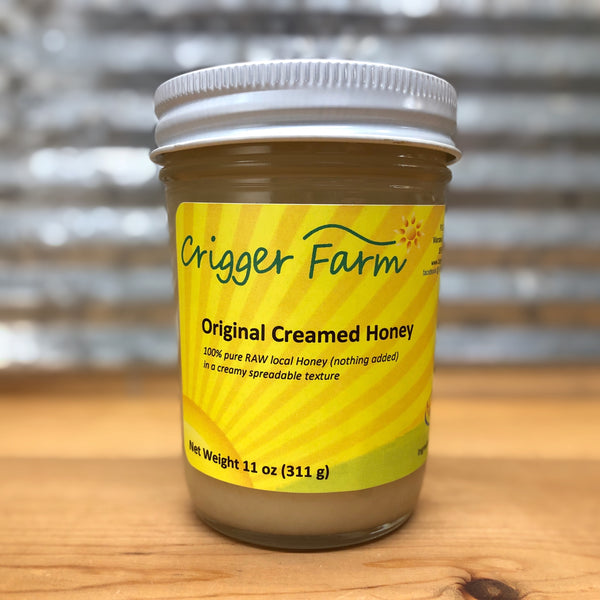 Crigger Farm Bourbon Creamed Honey