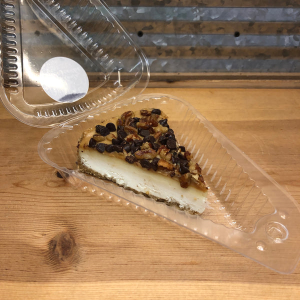 Atlanta Cheesecake Turtle Cheesecake Slice