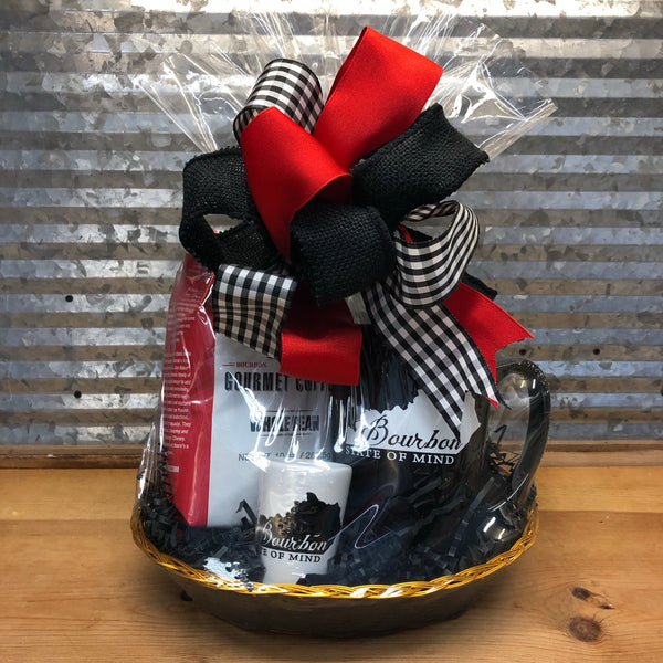 Bourbon is a State of Mind Coffee Gift Basket