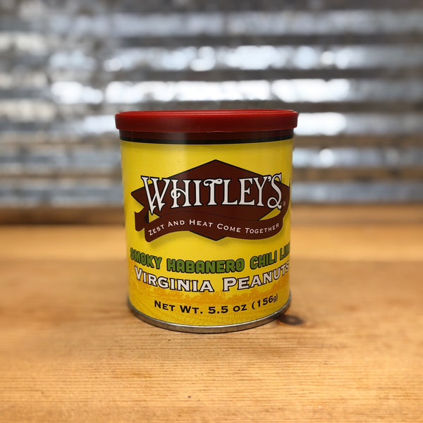 Whitley's Smoky Habanero Chili Lime Peanuts