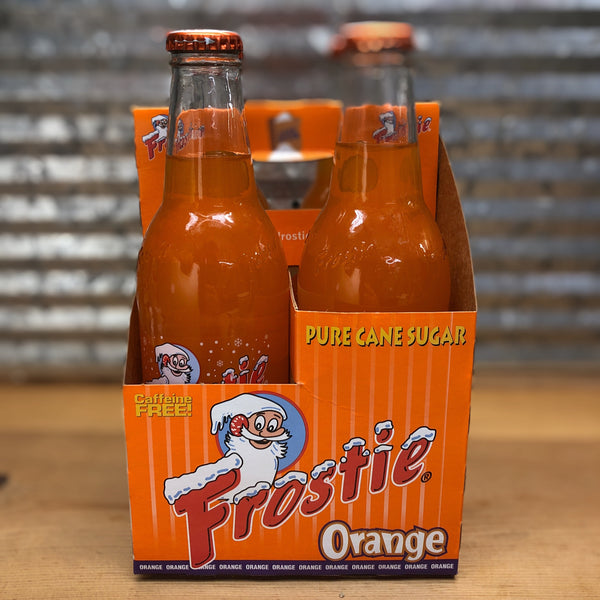 Frostie Orange Soda Glass Bottle 4pk