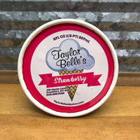 Taylor Belle's Strawberry Ice Cream 1/2 pint