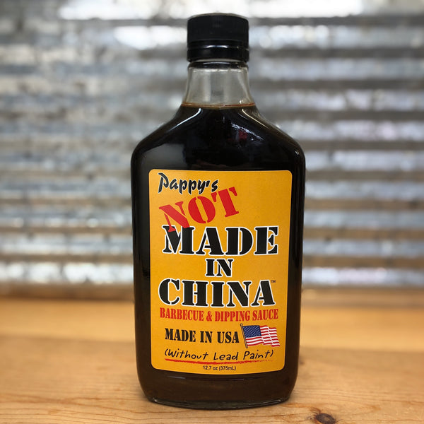 Pappy's Not Made In China Barbeque & Dipping Sauce