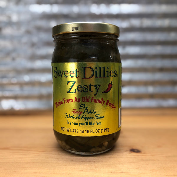 Sweet Dillies Zesty Pickles