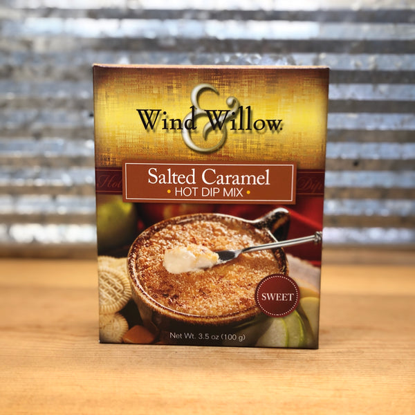 Wind & Willow Salted Caramel Hot Dip Mix