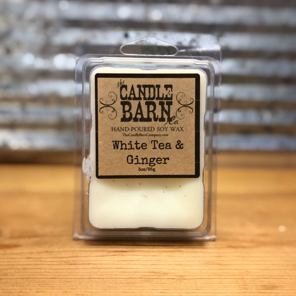 Candle Barn White Tea & Ginger Wax Melt