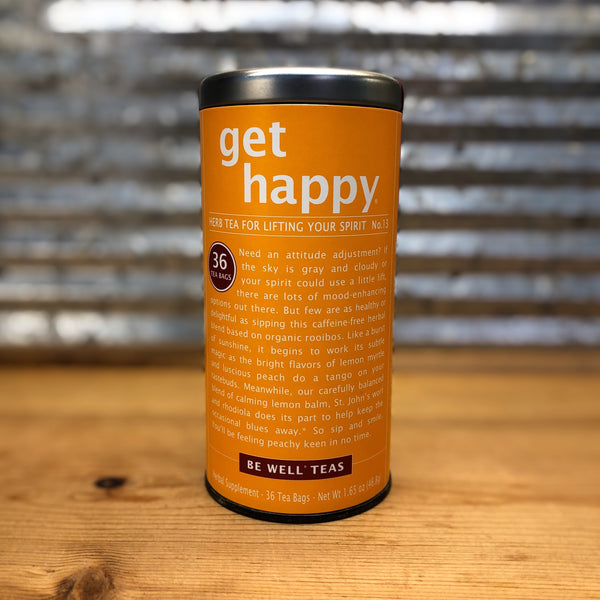 The Republic of Tea Get Happy - Herbal Caffeine Free