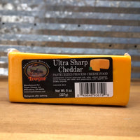Troyer Ultra Sharp Cheddar Pasteurized Cheese
