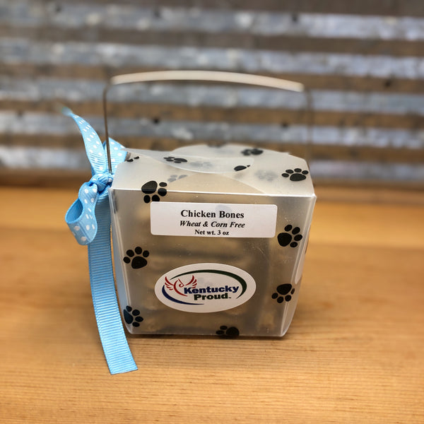 Paw Prints Chicken Treats Gift Box