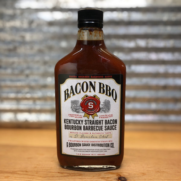 Kentucky Straight Bacon Bourbon Barbeque Sauce