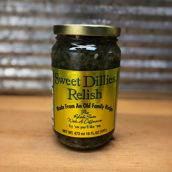 Sweet Dillies Relish
