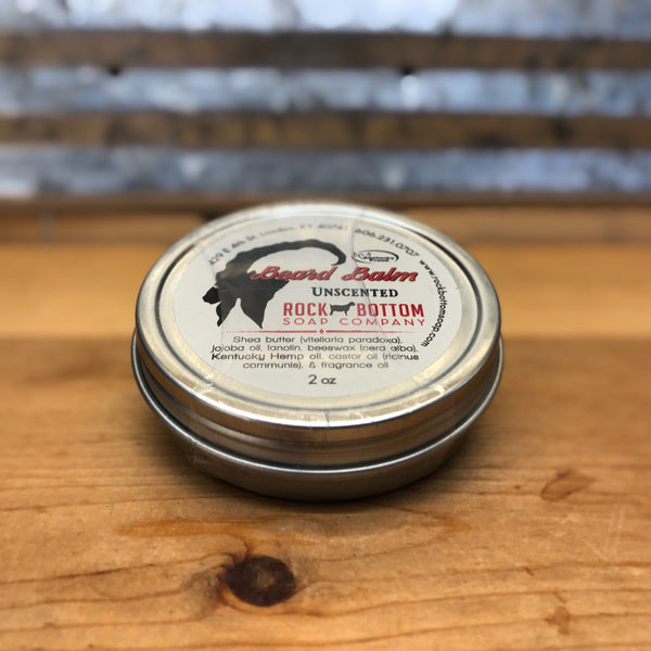 Rock Bottom Unscented Beard Balm