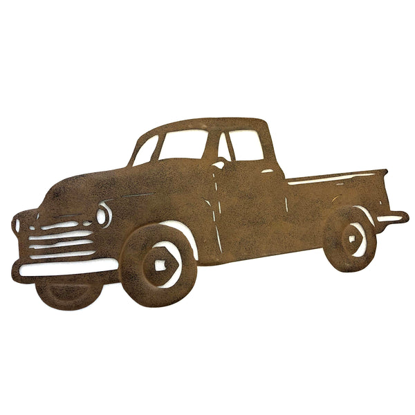 Pick Up Truck Metal Wall Decor