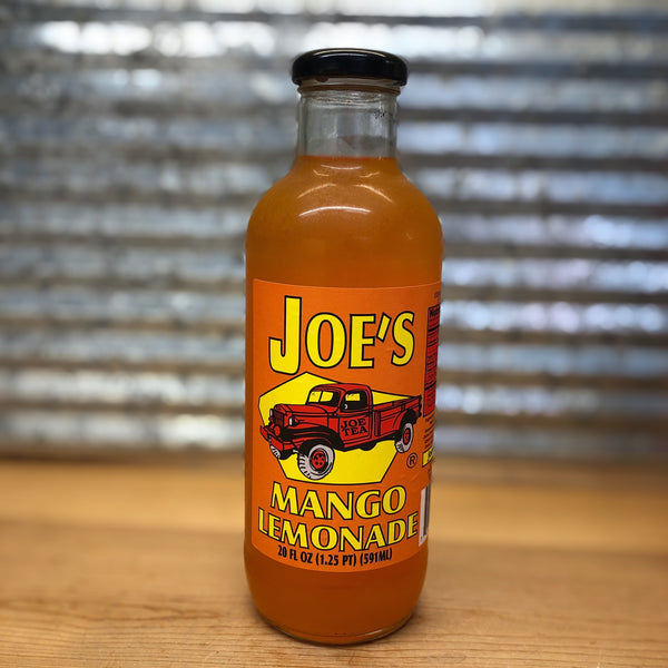 Joe's Mango Lemonade Glass Bottle