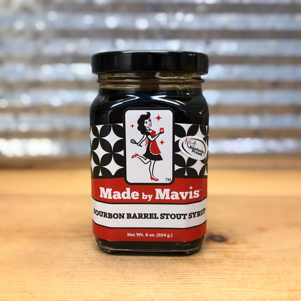 Made by Mavis Bourbon Barrel Stout Syrup