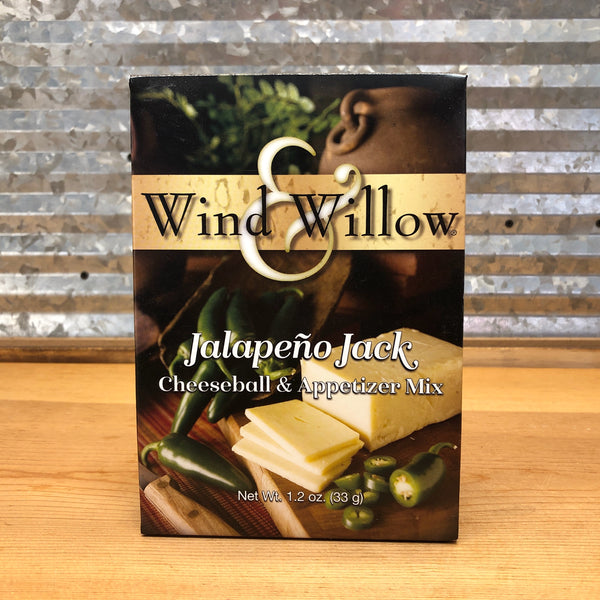 Wind & Willow Jalapeño Jack Cheeseball & Appetizer Mix