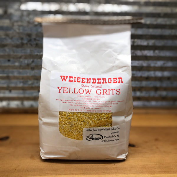 Weisenberger Mills Stone Ground Yellow Grits