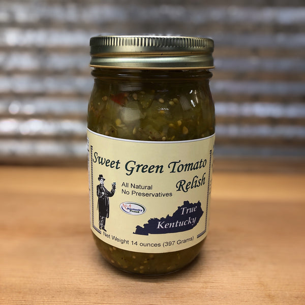 True Kentucky Sweet Green Tomato Relish