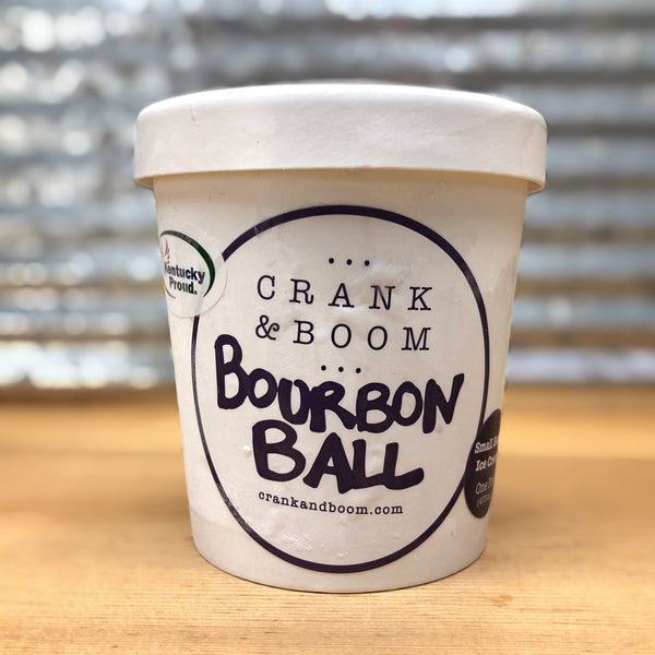 Crank & Boom Bourbon Ball Ice Cream