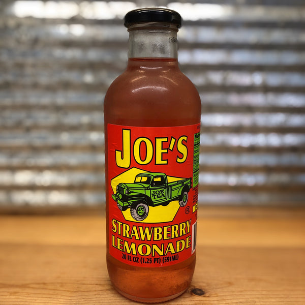 Joe's Strawberry Lemonade Glass Bottle
