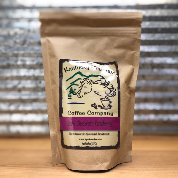 Kentucky Mountain Dark Chocolate Raspberry Ground Coffee