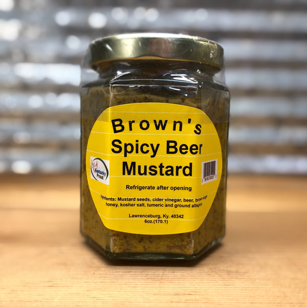 Brown's Spicy Beer Mustard