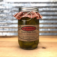 Peg's Pantry Bread & Butter Pickles