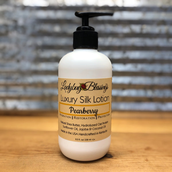 Ladybug Blessings Pearberry Luxury Silk Lotion