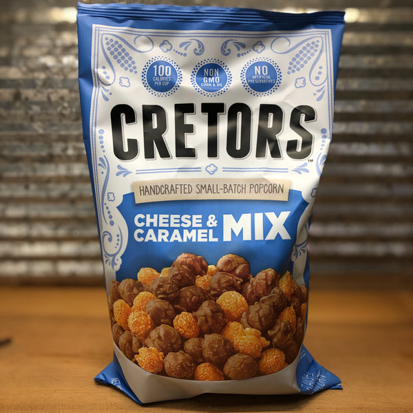 Cretors Cheese & Caramel Mix Popcorn