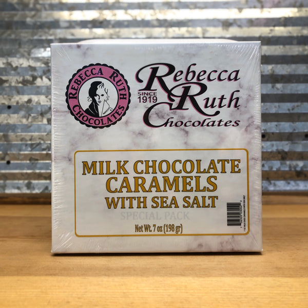 Rebecca Ruth Milk Chocolate Caramels with Sea Salt 7oz