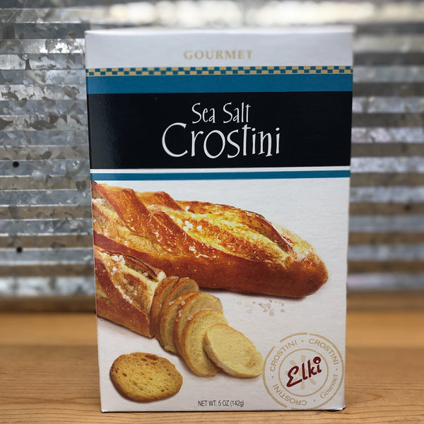 Elki Sea Salt Crostini