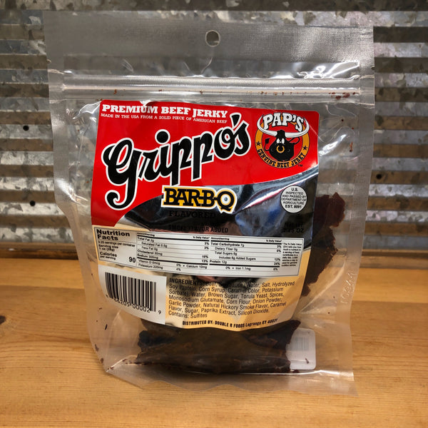 Pap's Grippos Barbecue Beef Jerky
