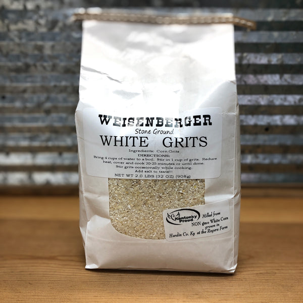 Weisenberger Mills Stone Ground White Grits