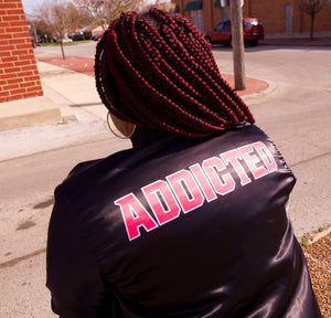 Addicted Varsity jacket