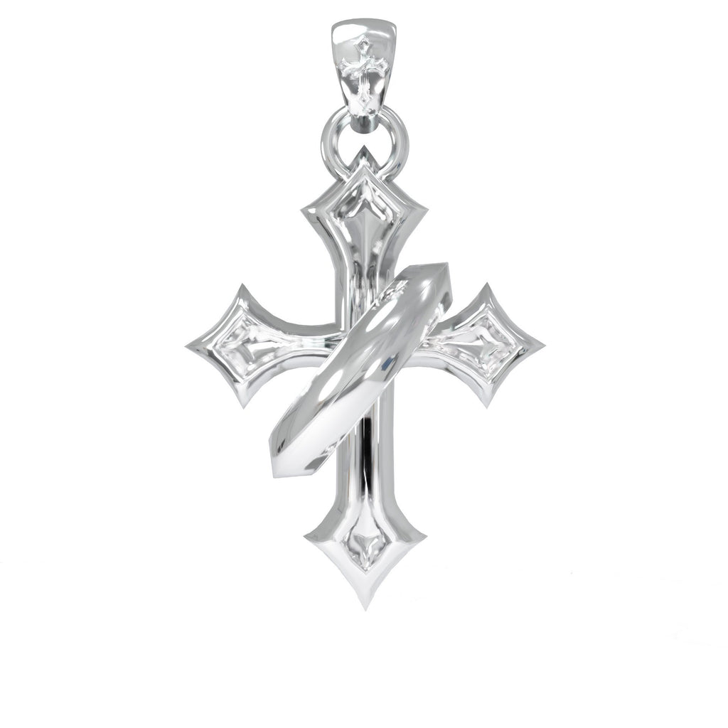 Halo Cross Pendant Saint Terror