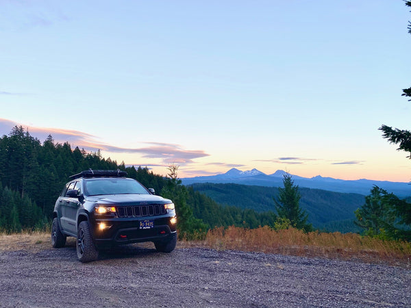 Overlanding in the mountains
