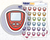 Small Glucose Meter Icon: Diabetic Planner Stickers Midnight Snack Planner