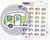 RV or Trailer Icon: Camping Trip Planner Stickers Midnight Snack Planner