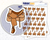 Western Saddle Icon: Horse Back Riding Planner Stickers Midnight Snack Planner