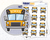 Yellow School Bus Icon: Back to School Planner Stickers Midnight Snack Planner