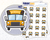 School Bus Planner Stickers from Midnight Snack Planner