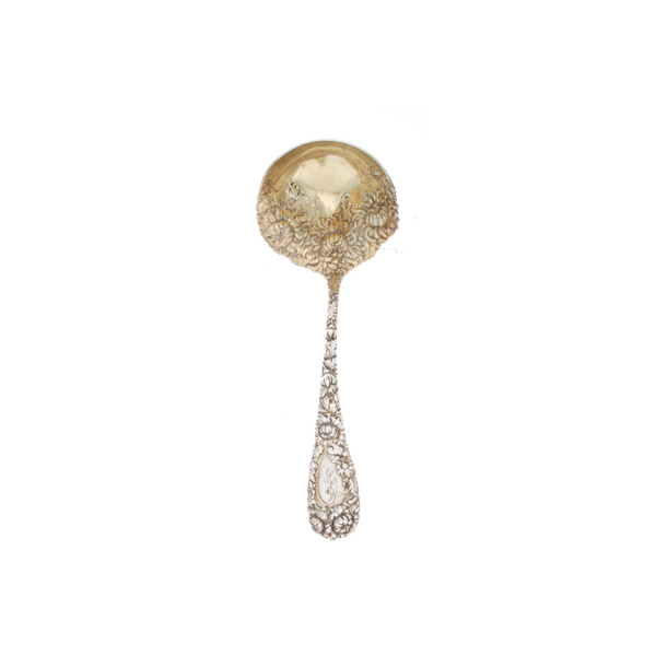 Durgin Chrysanthemum Sterling Sauce Ladle