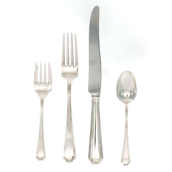Fairfax Sterling Silver Dinner Size Setting