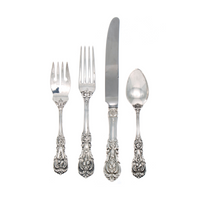 Francis I Sterling Silver 4 Piece Place Size Setting with French Blade