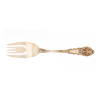 Sir Christopher Sterling Silver Cold Meat Fork